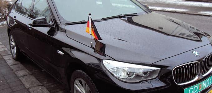Premium car flags diplomat flags car flag pole diplomat z series sciox Image collections